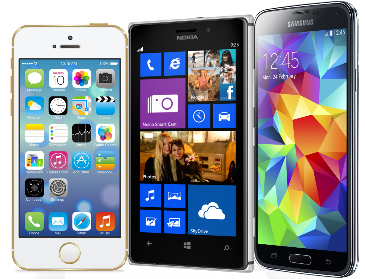 Mobile Applications with (IOS, Android and Windows Phone)
